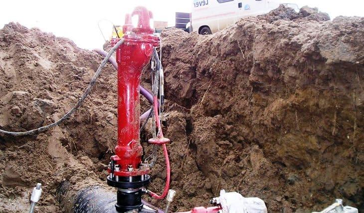 Техническое обслуживание гидрантов пожарного назначения