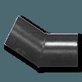 Отвод сварной 2-сегмента 10 - 45 градусов